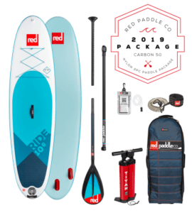red paddle ride msl fusion sup board