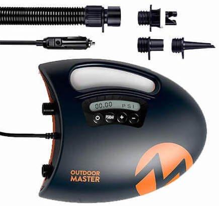 outdoor master shark 2 beste elektrische pomp